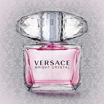 Pink Designer V Crystal Bottle Artwork