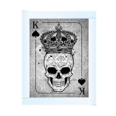 Skull Crown K Playng Card 95 x 75
