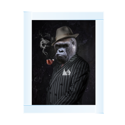 Gangster Gorilla With Pipe 65 x 55