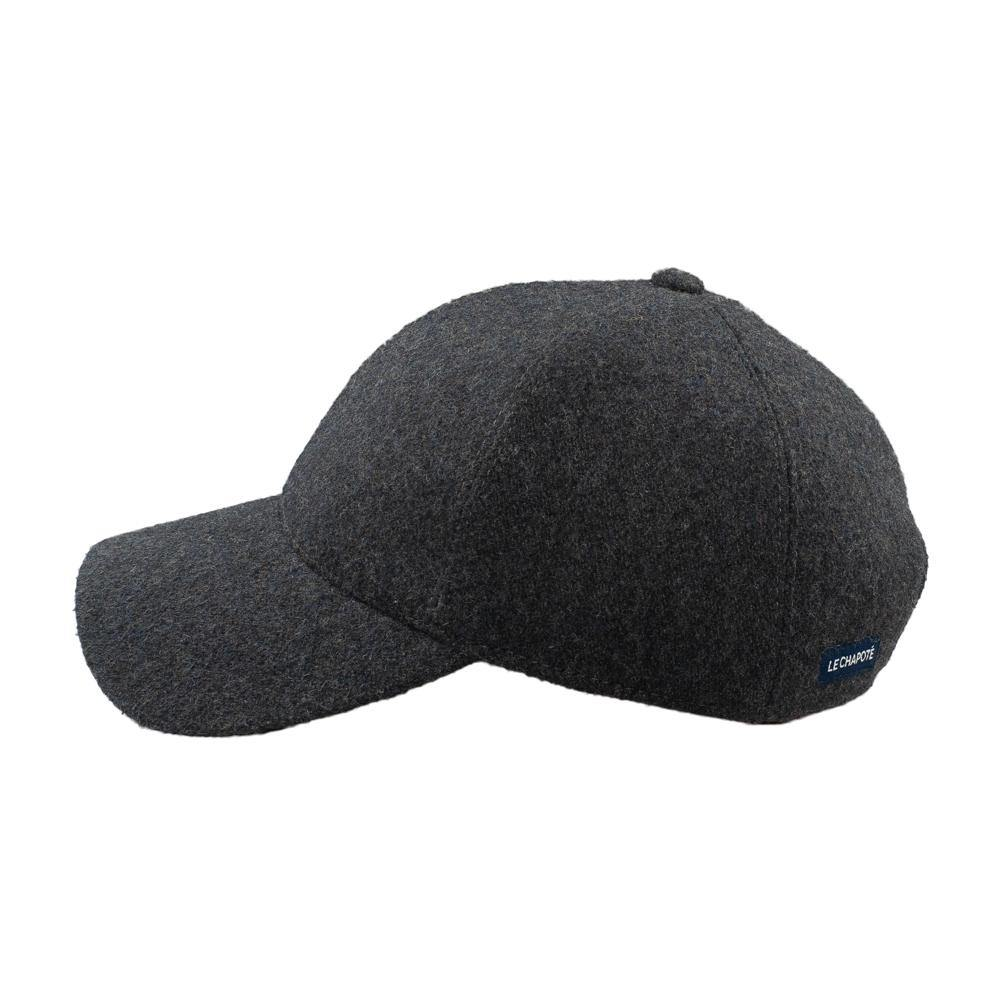Casquette Flanelle Dark Grey - Venitz Conscious Creation