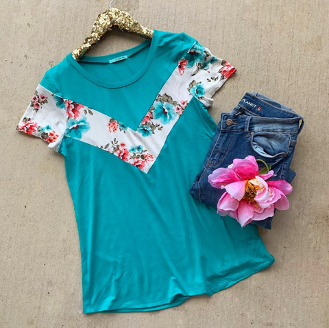 Floral Allure Top