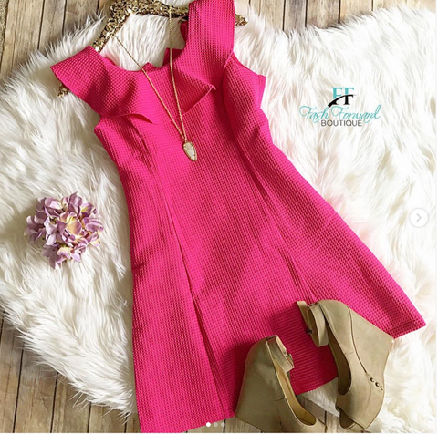 Fit and Flair Dress
