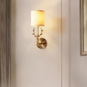 Wall Lamp Lore Brass Finish