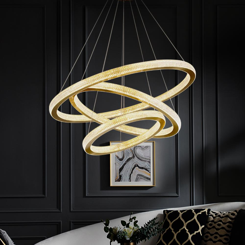 Ring Chandelier Hanging Suspension