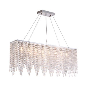 Creative M Shape Crystal Pendant Light