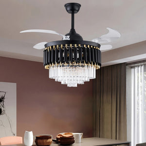 retractable ceiling fan