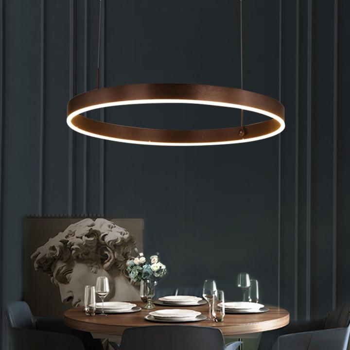 Modern LED Ring Chandelier
