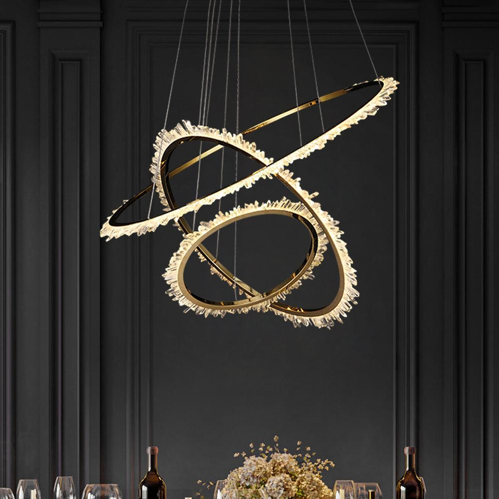 Galaxy Ring Crystal Chandelier