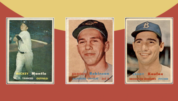1957 Topps Baseball Hall of Fame Edition II
