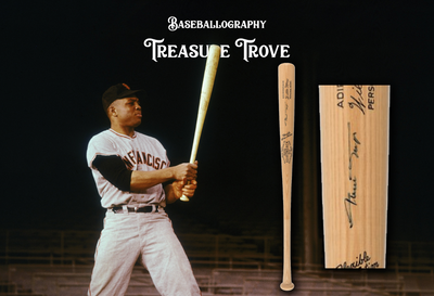 Willie Mays Treasure Trove