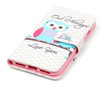 """Owl always love you"" iPhone 7/ iPhone 8 flip cover"