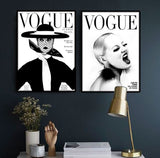 Kanvas plakat - VOGUE SCREAM