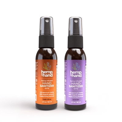 Hand Sanitizer Spray - Hemp and Hand