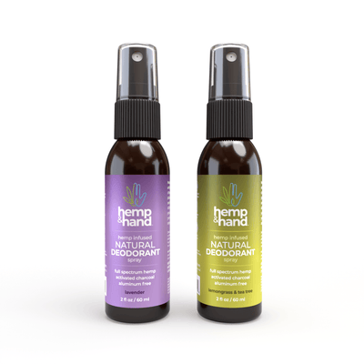 Natural Deodorant Spray - Hemp and Hand