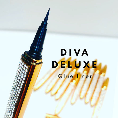 Diva Deluxe Glue Liner - Moody Babe Lashes