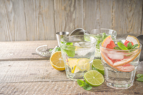 image of fruit infused water
