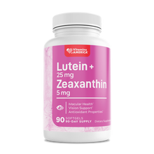 Load image into Gallery viewer, Lutein 25 mg + Zeaxanthin 5 mg