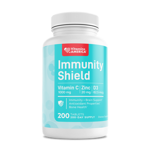 Immunity Shield – Herbal Blend with Vitamin C, D & Zinc