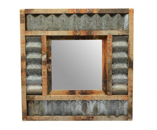 Wall mirrors, freestanding mirrors, square, round, reclaimed