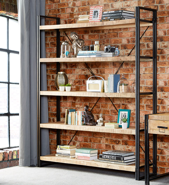 Shelving units, display shelving, bookcases, large, small, narrow, open