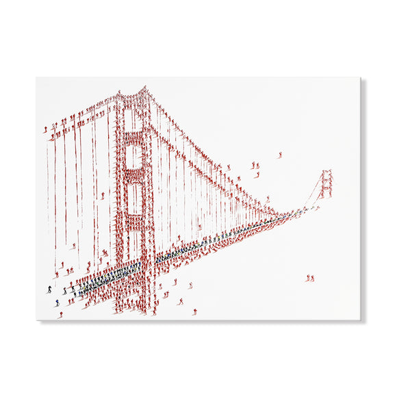 Handpainted Golden Gate Bridge Canvas