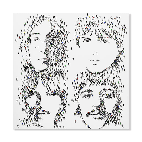 Handpainted Beatles Portrait Canvas