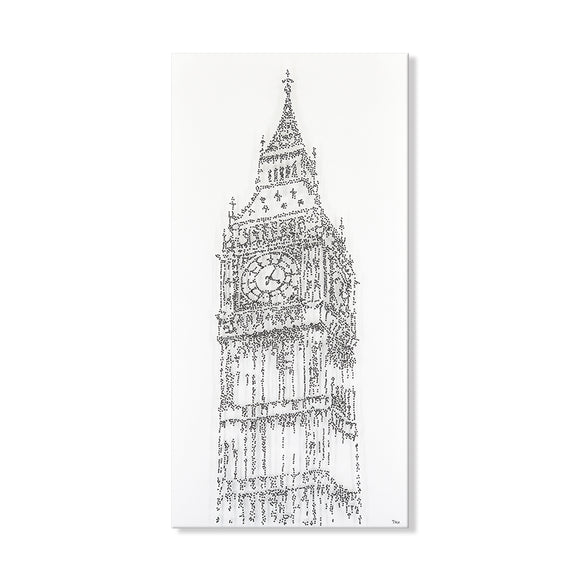 Handpainted Big Ben Canvas