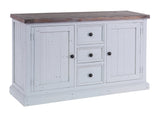 Hamptons Wide Sideboard with 2 Doors & 3 Drawers