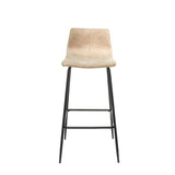 Set of 2 Oslo Barstools in Oyster Moleskin