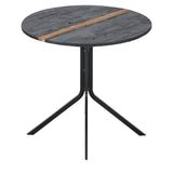 Clovelly Striped Round Bistro Table