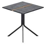 Clovelly Striped Bistro Table