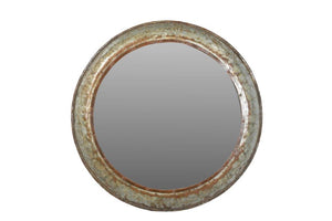 Upcycled Parat Cooking Bowl Mirror 1