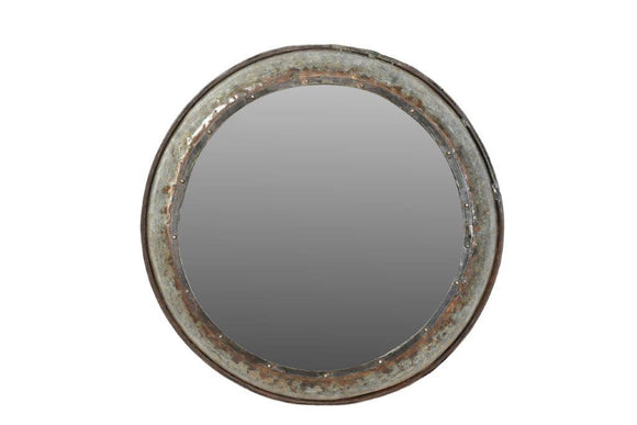 Upcycled Parat Cooking Bowl Mirror 2