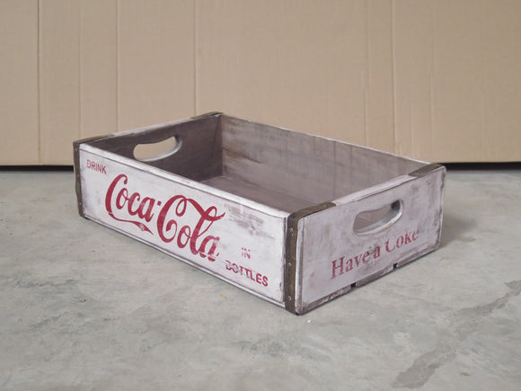 White Coca Cola Box