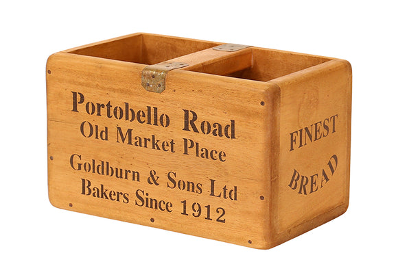 Medium Vintage Box - Portabello Road