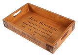 Vintage Wooden Serving Tray - Lavender
