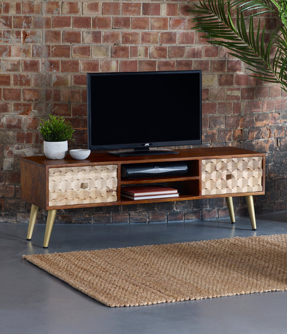 Edison Large TV Media Stand