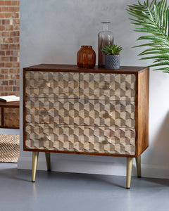 Edison 4 Drawer Chest - Kate Newington Interiors