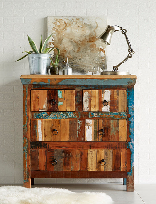 Coastal 4 Drawer Chest