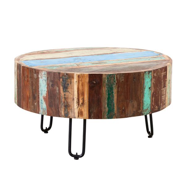 Coastal Drum Coffee Table