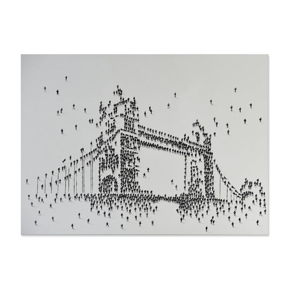 Handpainted Tower Bridge Canvas