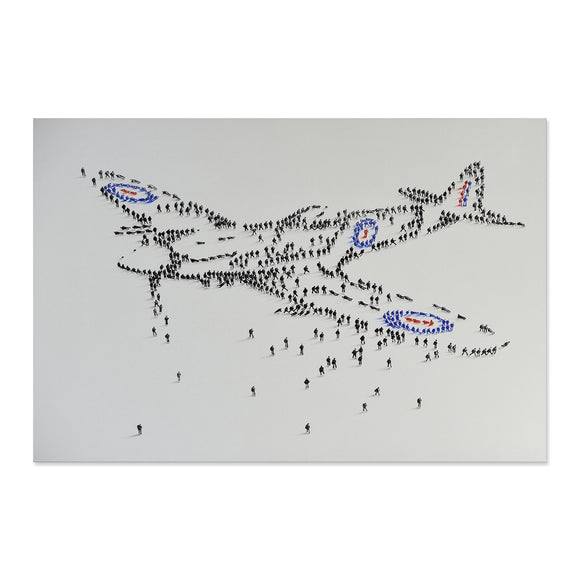 Handpainted Spitfire Canvas