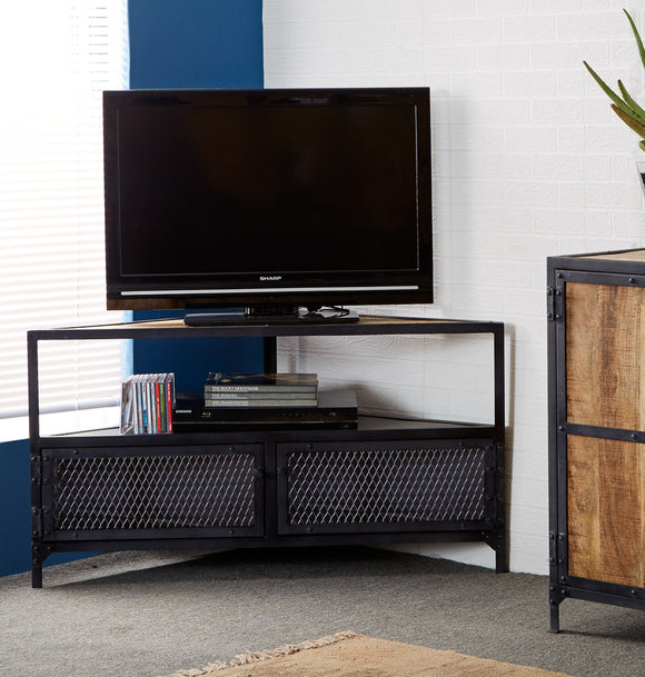 Ascot Corner TV Unit - Kate Newington Interiors
