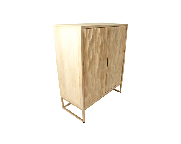 Luxe Dune Cabinet with Doors