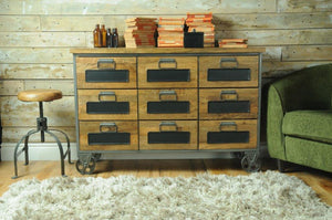 The Loft 9 Drawer Apothecary Chest