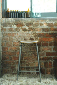The Loft Industrial Lab Stool