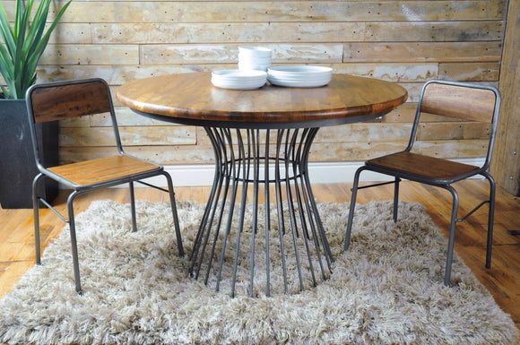 The Loft Cage Bistro Dining Table (Round)