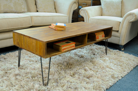 The Loft Hairpin Leg Coffee Table