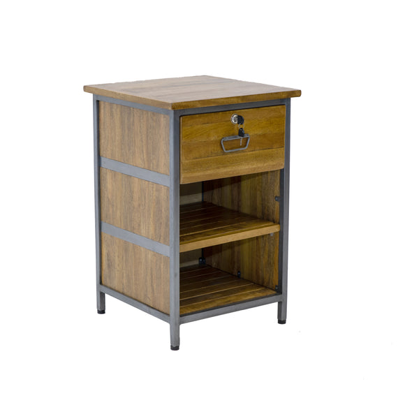 The Loft 1 Drawer Lockable Cabinet