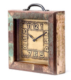 Upcycled Wooden Drawer Clock